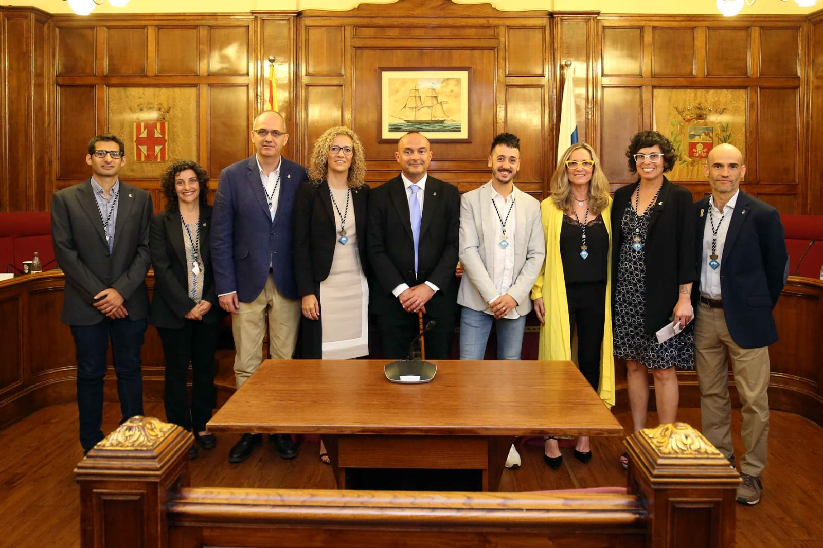 Equip de Govern de l'Ajuntament del Masnou.