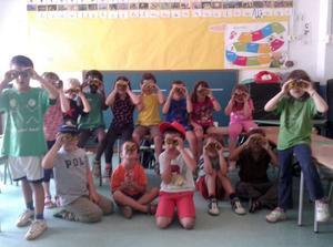 Infants participants a l'edició 2014 del Fakaló